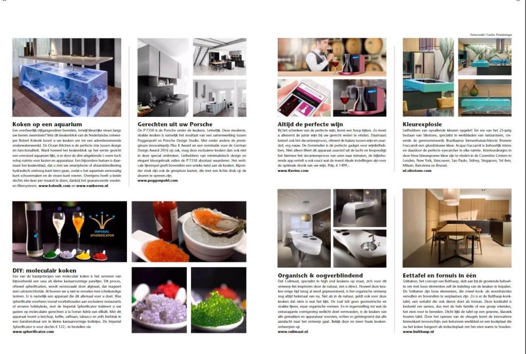 Artikel Klasse in de keuken