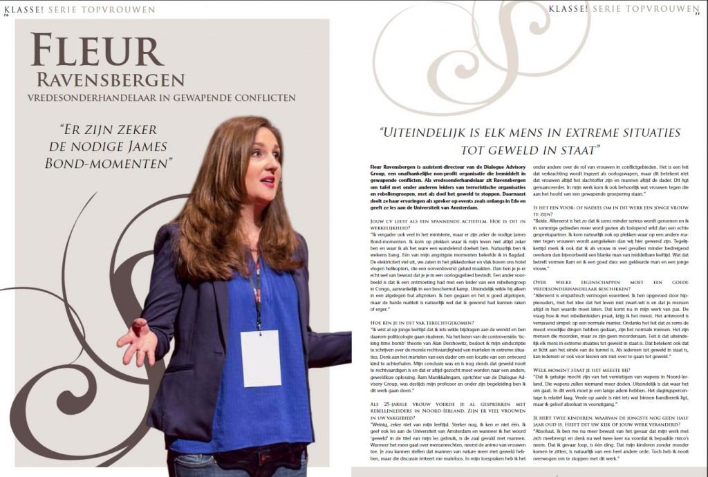 Interview Fleur Ravensbergen